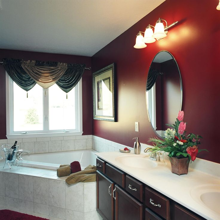 Photos On Master Bathroom color scheme in Plan D House Plans and More
