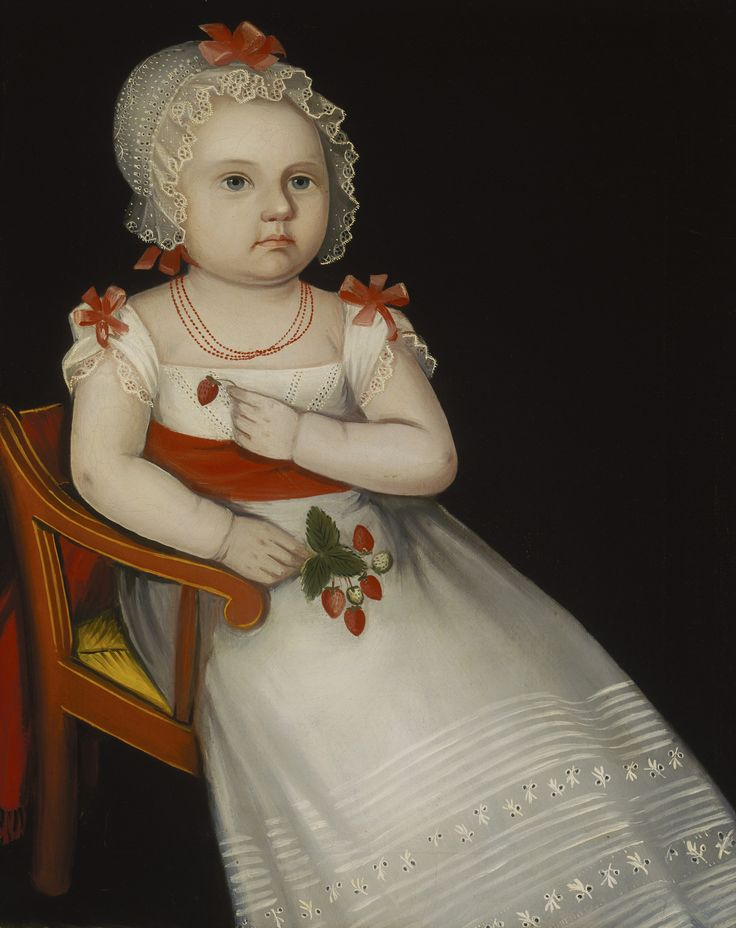 Mary Elizabeth Smith by Ammi Phillips from Terra Foundation for American Art