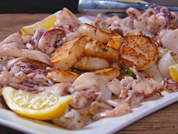 Winning Dishes Gallery   MasterChef Australia Ep 20: Grilled squid with parsley and lemon  Get Vern's Grilled squid with parsley and lemon recipe.