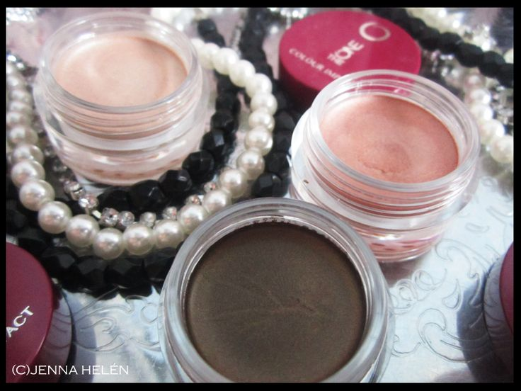 Oriflame TheONE Colour Impact Cream Eye Shadow. I just love these <3