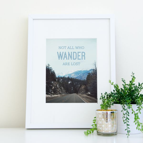 not all who wander are lost - 600×600