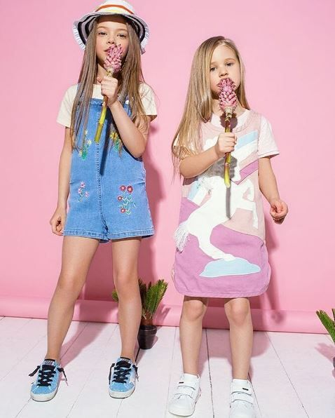 Perfect style and playful mood with Stella McCartney Kids!  Take a look at the collection! #stellakids
