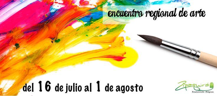 """#Zipaquirá se viste de cultura con el """"Encuentro Regional de arte"""" y su inauguración será el jueves 16 en la estación del tren y biblioteca regional a las 4 de la tarde, visita #Zipaquiráturistica en este #FestivalSalinero2015  #Colombia #larespuestaesCOlombia"""