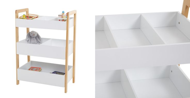 Children don't like the idea of tidying up but they do love sorting, and putting things in boxes or cupboards, which is where this brilliant toy storage comes in!