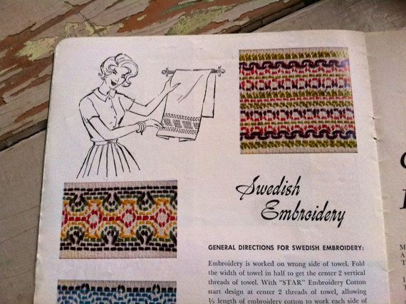 Check out this item in my Etsy shop https://www.etsy.com/listing/216016965/vintage-swedish-sewing-booklet-retro