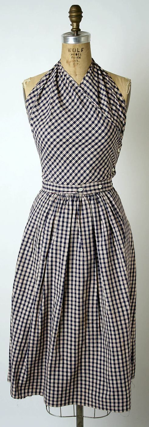 Claire McCardell sundress 1943