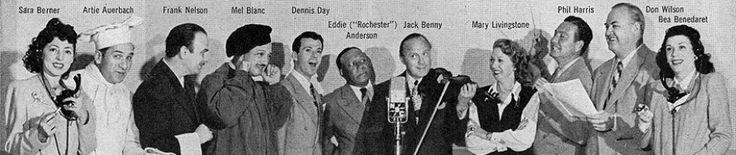 full cast of the Jack Benny radio show