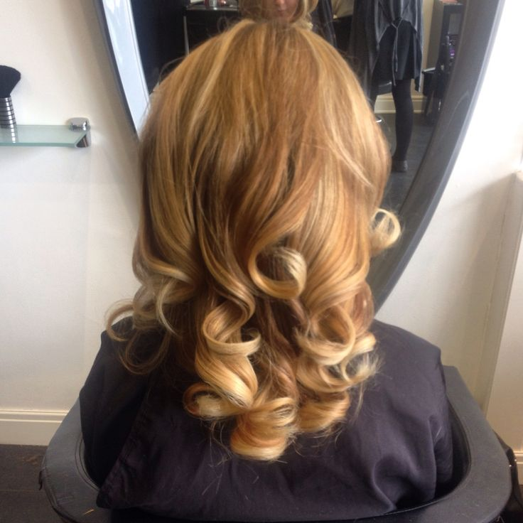 Thank You Indulge Hair For My Gorgeous Colour And Curly