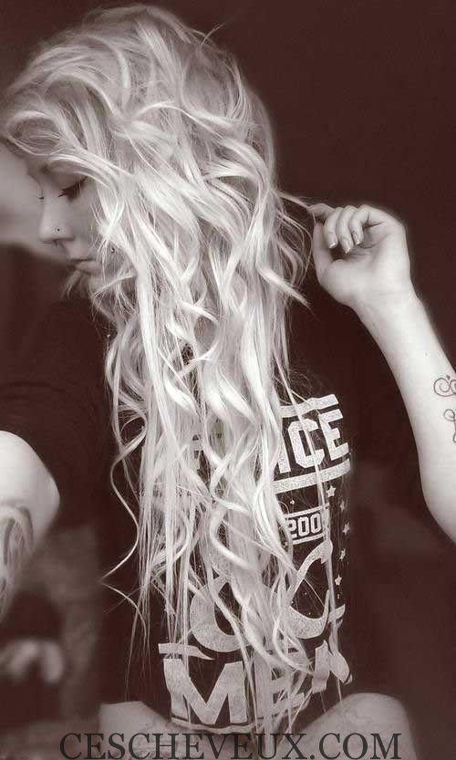 les Meilleurs Cheveux Bouclés