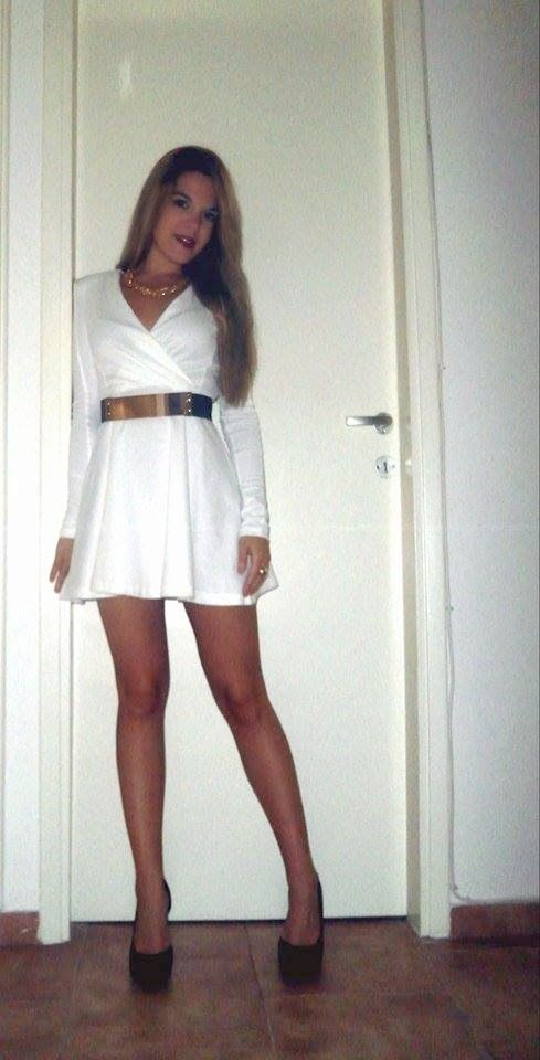 STYLICIOUS V.K:                                     THE WHITE DRES...