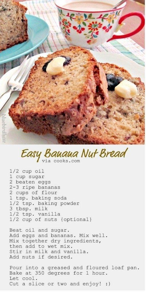 Banana nut bread by bdh