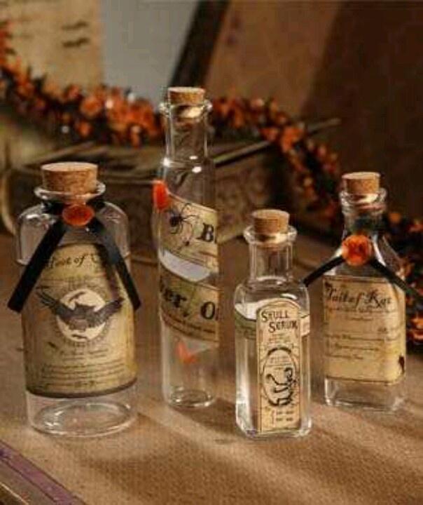 Bethany Lowe Potion Bottles