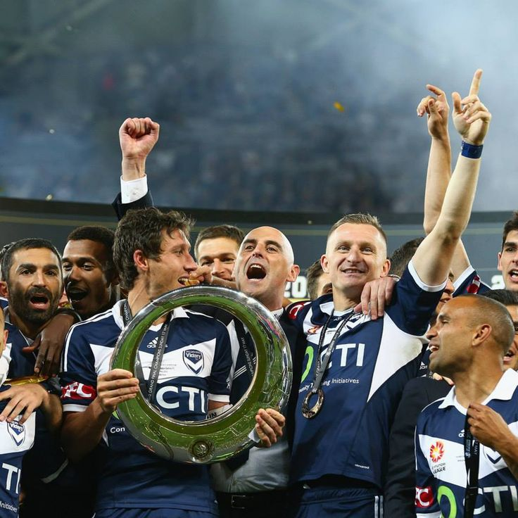 """Aside from food, football is my obsession. I am Melbourne Victory's """"No. 1 Ticket Holder""""."""