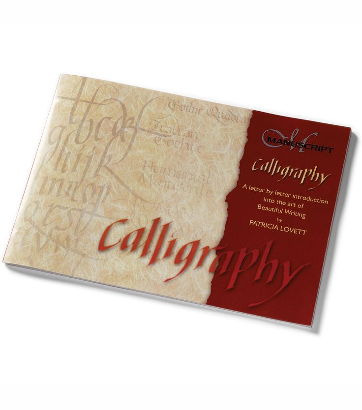 Manuscript Calligraphy Manual Letter By Letter Introduction