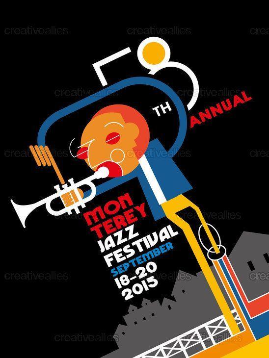 Montreux Jazz Festival 2015 >> Montreux Jazz Festival September 2015 Jazz Art Posters