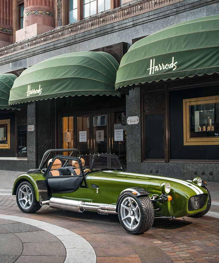 caterham + harrods release signature edition seven with bespoke styling
