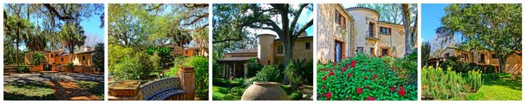 Pinewood Estate in Lake Wales Florida - Former Winter Home of Charles Austin Buck