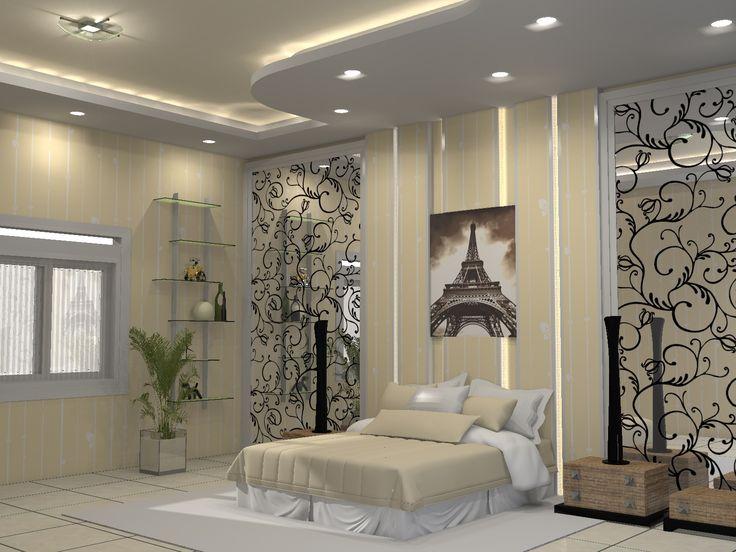 ruang tidur kediaman bpk Suandi, Bogor
