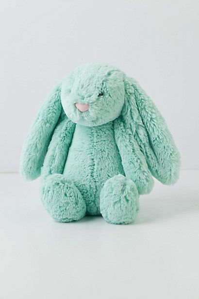 Anthropologie Cottontail Bunny Rabbit with a heart-shaped pink nose ~ <3 #OneGoodThread #EASTER