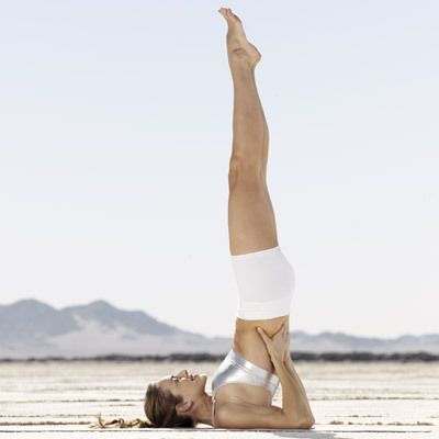 Why you gotta start doing Supported Shoulder Stand every day: This CELLULITE-BUSTING yoga move reverses blood flow and eases the gravitational pull on your legs and butt. | health.com