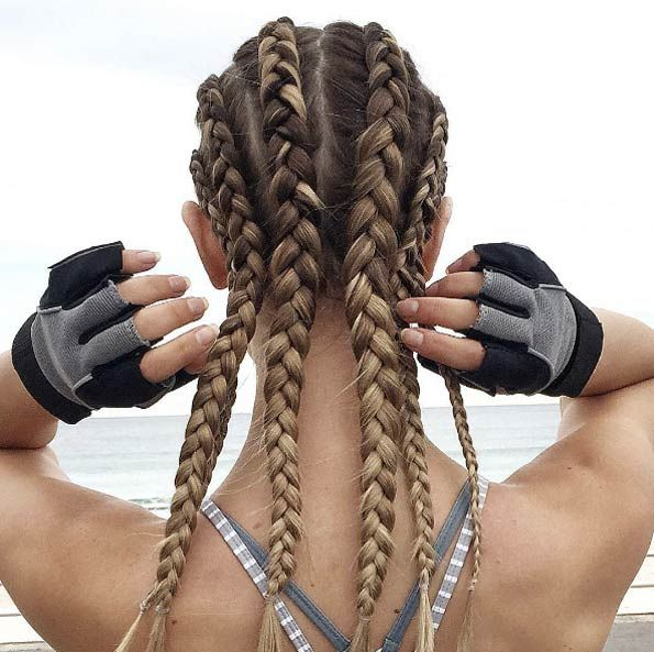 Dutch boxer braids by Jacque Morrison