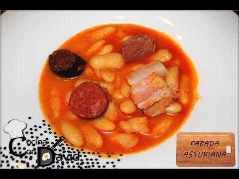 Fabada asturiana en olla exprés // Cocina con David