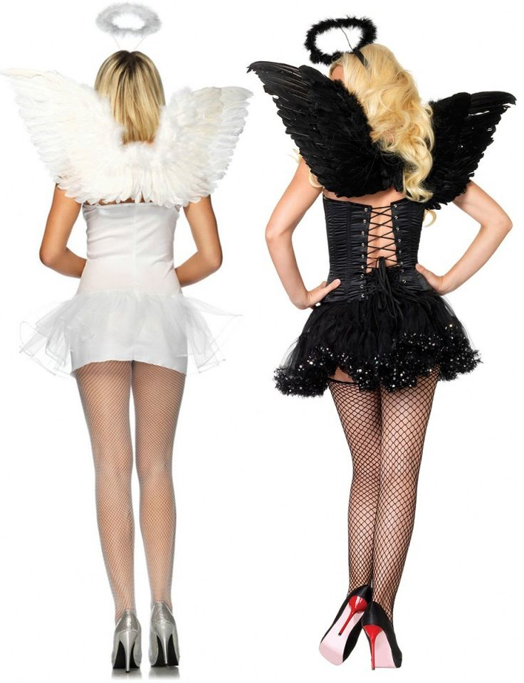 Leg Avenue Angel Accessory Kit £17.99  Are you feeling angelic? This 2 Piece Angel Accessory Kit by Leg Avenue is perfect. Includes wings and halo, and is available in black or white. #sexyangel #fancydress