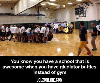 You Know You Have A School That Is Awesome... #lol #haha #funny