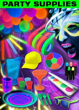 Blacklight Party Supplies