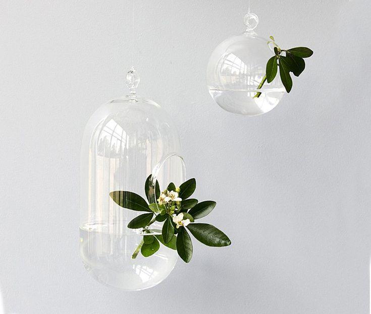 les 25 meilleures id es de la cat gorie vases suspendus sur pinterest d corations suspendre. Black Bedroom Furniture Sets. Home Design Ideas