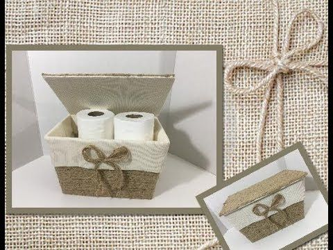 DIY Toilet Paper Storage (using Dollar Tree items) - YouTube