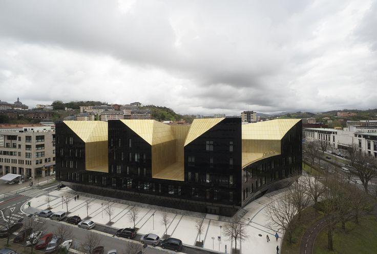 Image 5 of 21 from gallery of Musikene / GA + Atxurra Zelaieta Arquitectos. Photograph by Jorge Allende