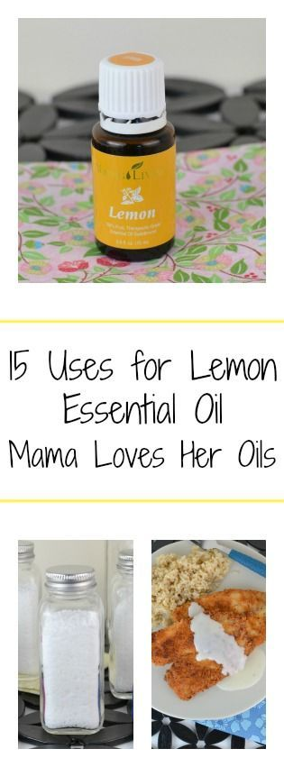 Add Lemon Essential Oil to your everyday life! 15 Uses for Young Living Lemon Essential Oil from Mama Loves Her Oils!