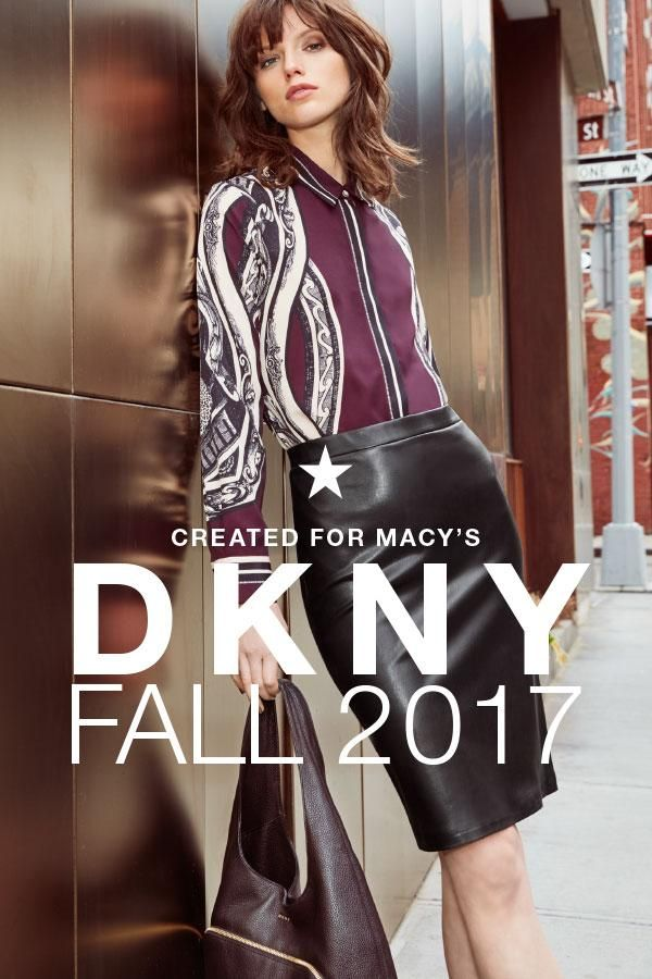With an energy and attitude inspired by the big city, the latest from iconic brand DKNY blends high-fashion trends with comfort and practicality. Click to shop the new styles, created for Macy's.