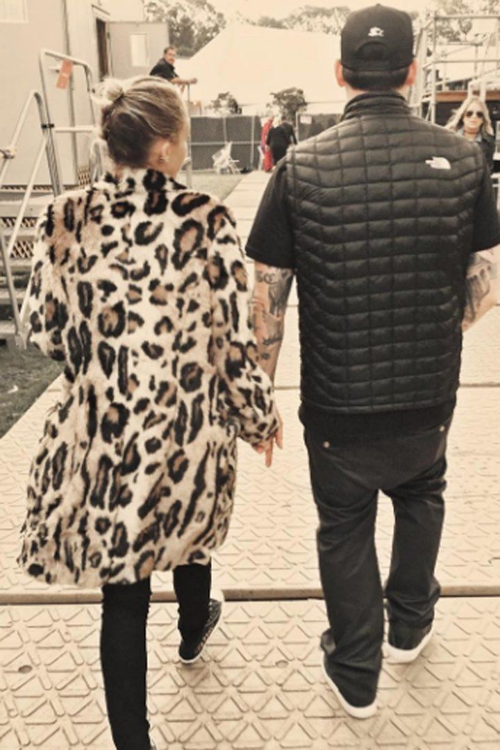 Pin for Later: Get a Glimpse of How Madly in Love Joel Madden Is With Nicole Richie