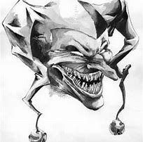 Best 25+ Jester tattoo ideas on Pinterest | Cool skull drawings, Evil tattoos and Clown face tattoo