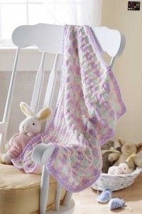 "HowStuffWorks ""Free Honeycomb Stroller Blanket Knitting Pattern"""
