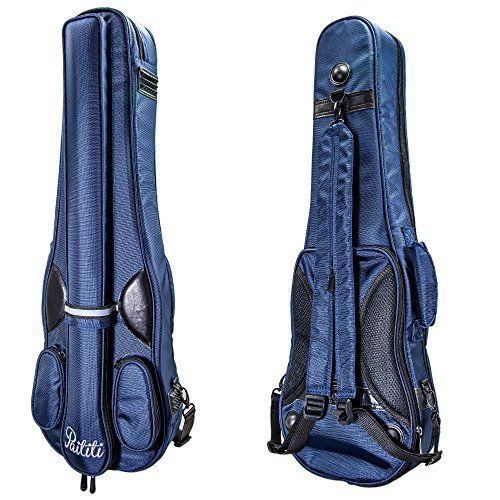 PAITITI Triangular Full Size Violin Soft Bag Lightweight Backpackble Navy Color *** Details can be found by clicking on the image.Note:It is affiliate link to Amazon.