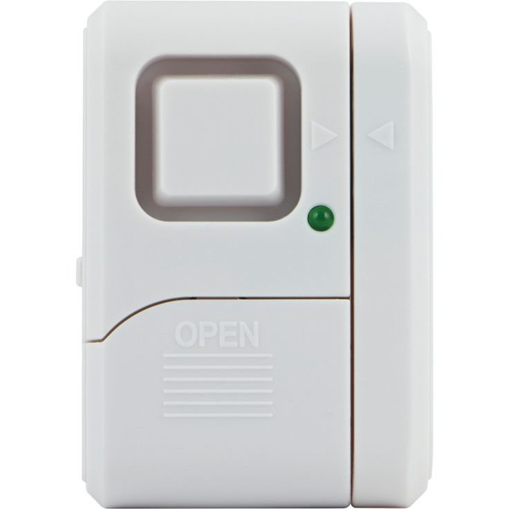 Ge Magnetic Window Alarm With On And Off Indicator Light