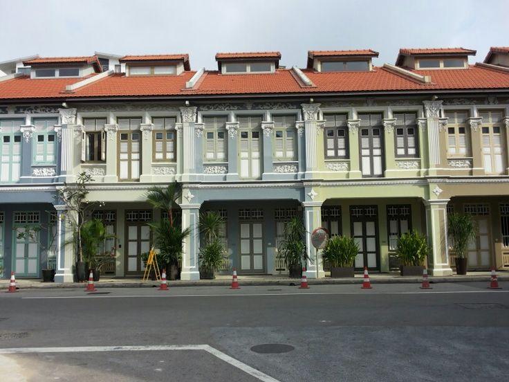 Joo Chiat Place #Singapore #shophouse #facade #architecture