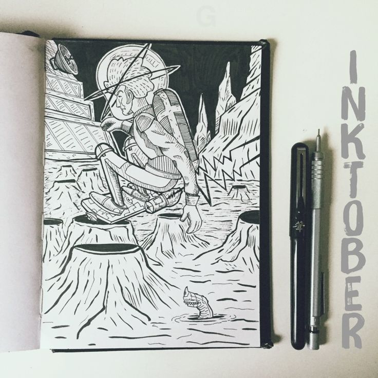 -27- #inktober #ink #illustration #inktober2015 #comics #backtothefuture #character #caricature #sketchbook #gutaart #sketch #topcreator #skate #mask #halloween #graffiti #IllustrationCat