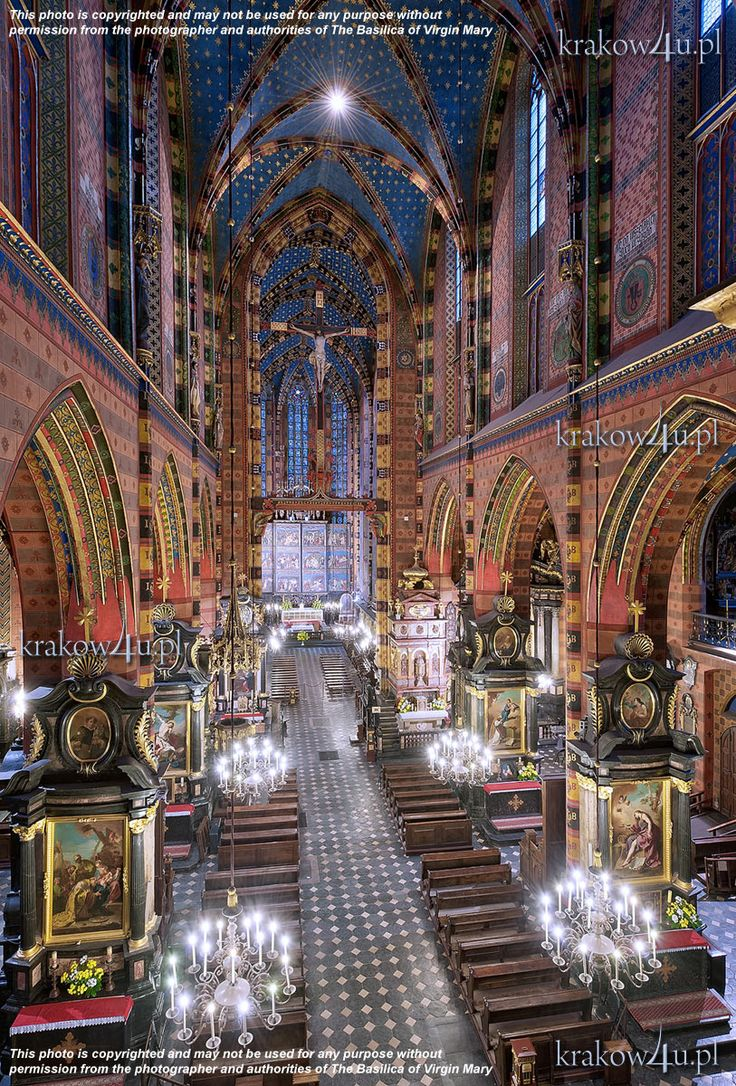 Basilica of the Assumption of Mary, Krakow, Poland,  uncredited