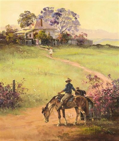 Delivering Country Mail by DArcy W Doyle