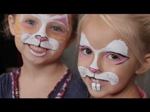 Face Painting for Kids: Rabbits : Halloween Costume Tips