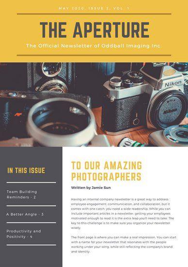 Best Newsletter Templates Images On   Newsletter