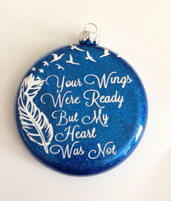 25+ Best Ideas About Memorial Ornaments On Pinterest