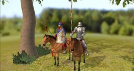 Hunyadi Mátyás seregében (lovas katonák)