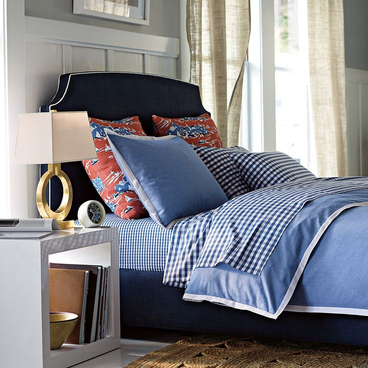 Wainscott Oxford Weave Duvet Cover And Shams Serenaandlily Master Bedroom Ideas Pinterest