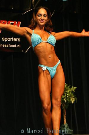 IFBB Figure Pro Mercedes Khani -  sample edit plan