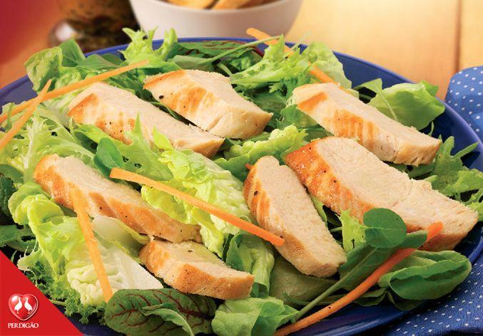 Receita de Salada Ceasar